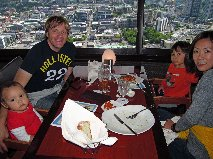 Shawn & Fam in Space Needle